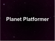 Planet Platformer
